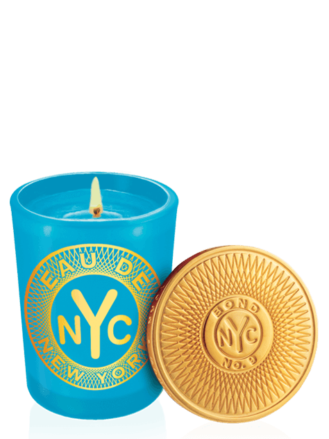 eau de new york scented candle
