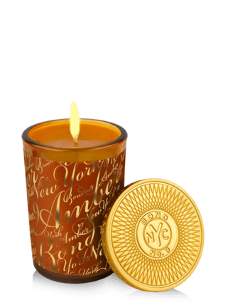 new york amber scented candle