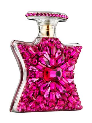 perfumista avenue bejeweled in fuschia